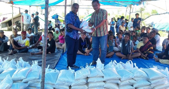 Earthquake and Tsunami Relief Work
